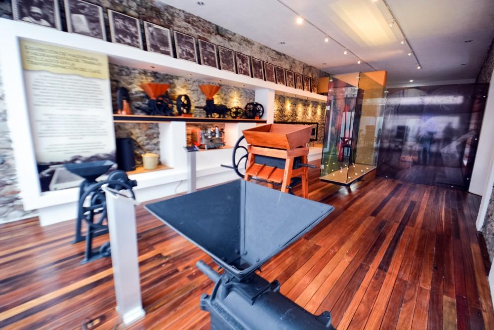interior del Museo del Café