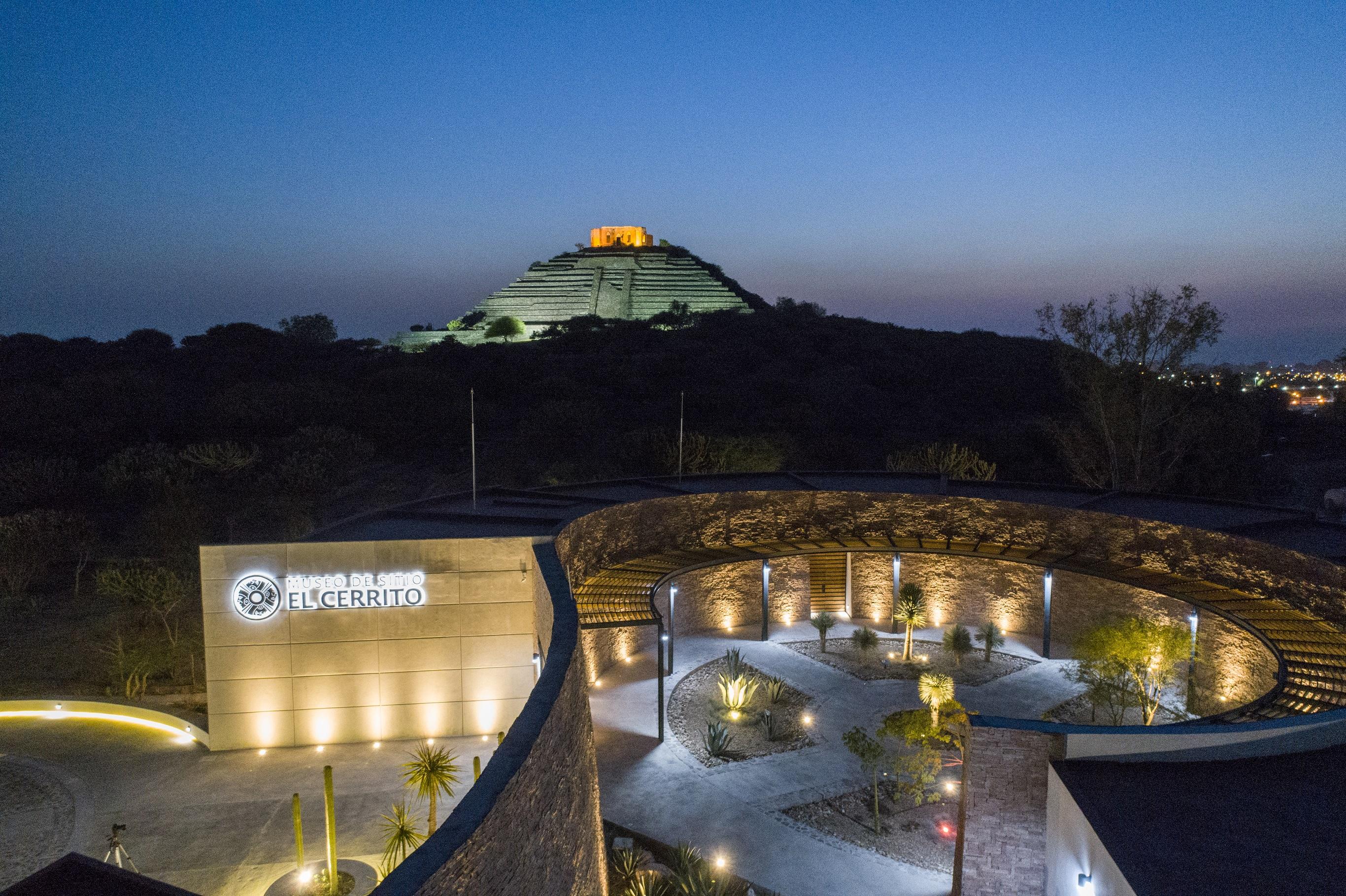 Museo de Sitio de la Zona Arqueológica de El Cerrito : Museos México :  Sistema de Información Cultural-Secretaría de Cultura