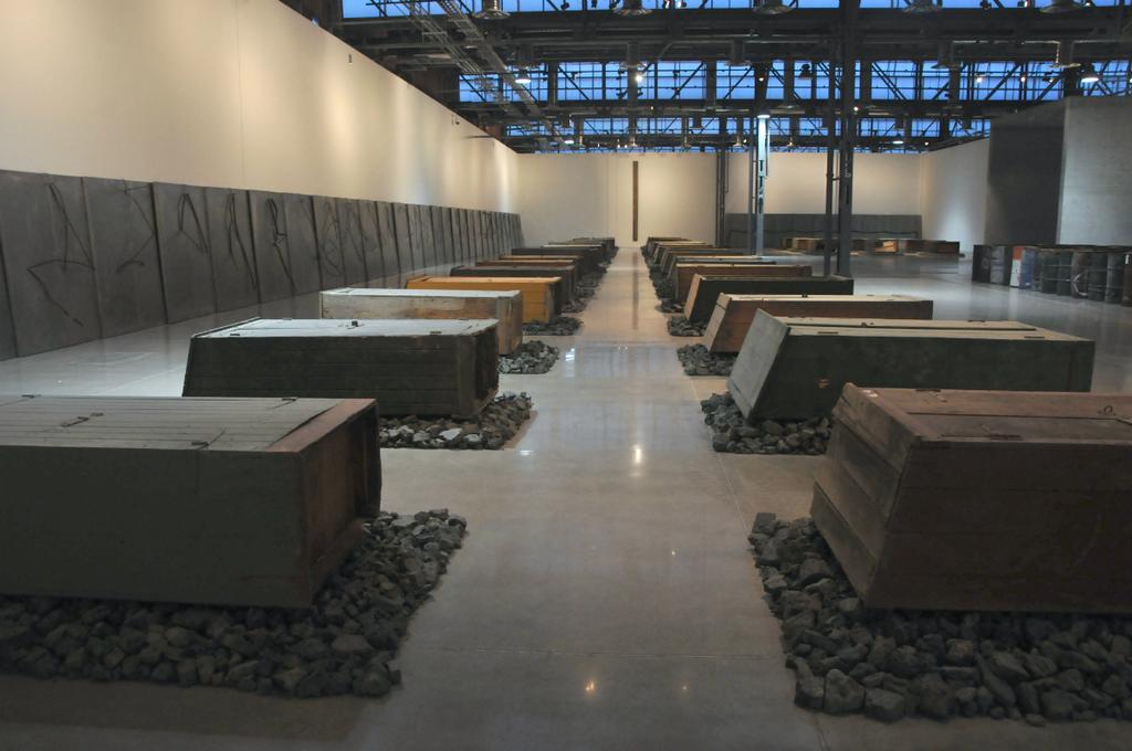 interior del museo espacio