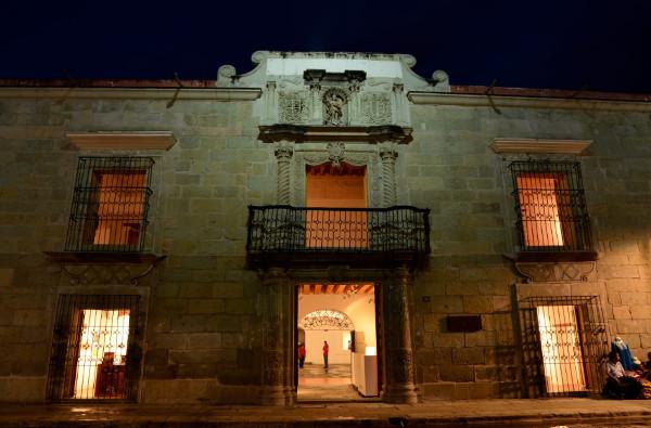 fachada del museo de arte contemporaneo de arte de oaxaca